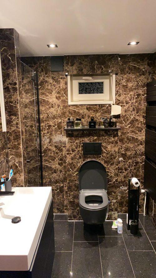 badkamer marmer paneel