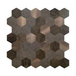Zelfklevende Mozaiek koper
