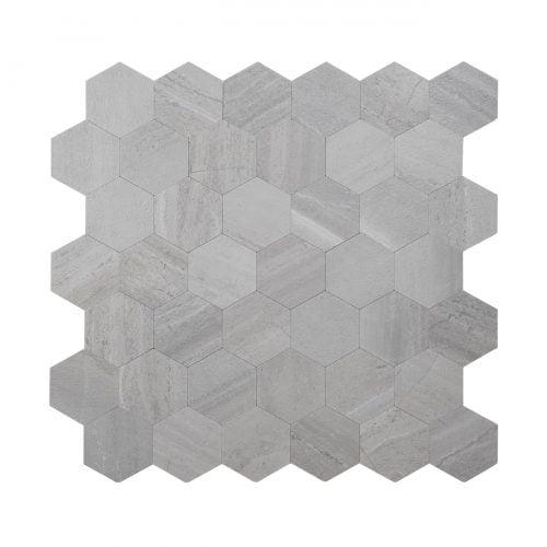 Mozaiek Hexagon GRIJS GRIGIO WJS8010